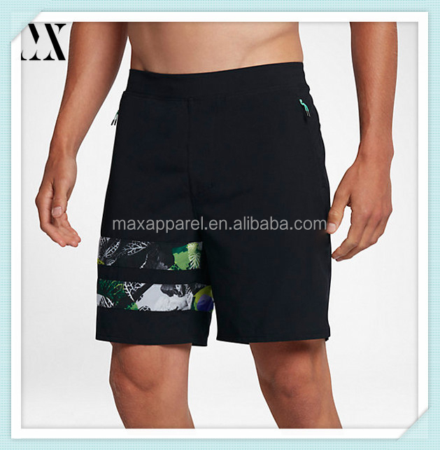 Hot sale mens quick dry beach shorts mens sportswear bathing suit custom swimming floating shorts