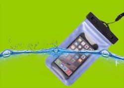 Universal Swimming PVC Waterproof Pouch Case Mobile Phone Bag for All Cell Phone