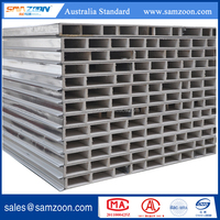 MGO composite board metal faced sandwich panel with fireproof
