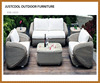 Outdoor rattan wicker sofa set+patio furniture+dragon mart dubai furniture