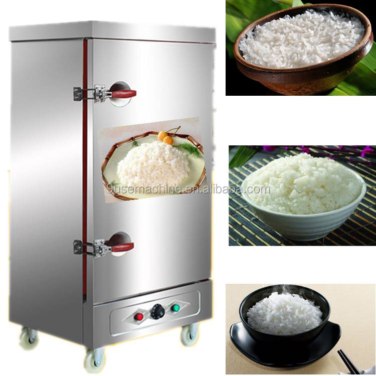 Automatic Kitchen Cooking Equipment Gas Food Steamer