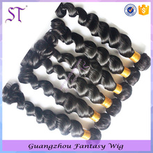 6A Top Quality Remy Human Hair Loose wave Peruvian Ombre Hair Weave With Various Colors