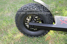 royal scout dirt/park scooter with 8' inflate wheel