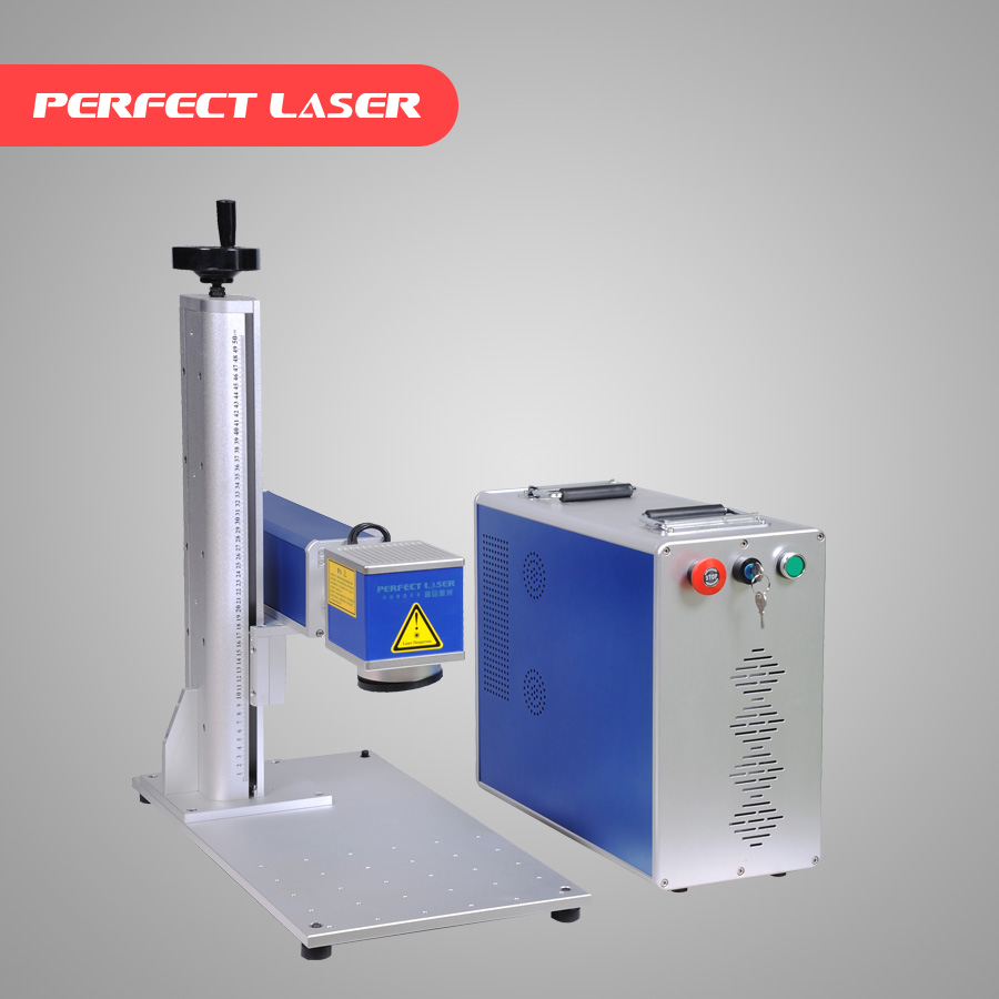 Discount price! metal / wire Fiber laser marker machine for marking on buttons