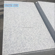Grey granite new G603 slab tile polihsed flamed waterjet Padang white