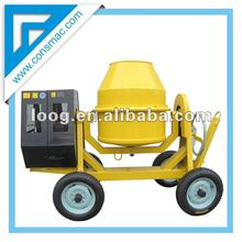 260L Petrol Steel Drum Cement Mixer