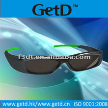 LCD shutter glasses used to view 3d movies on 3D TVs