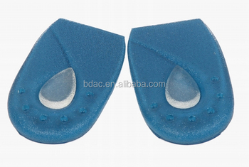 PU Gel Heel Pads with Removable Pads