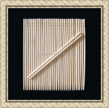 color paper wrapped chinese reusable round chopsticks wholesale with high quality