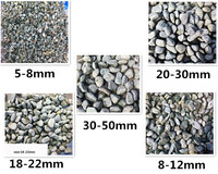 Natural white garden pebbles and stones polished round pebbles stone