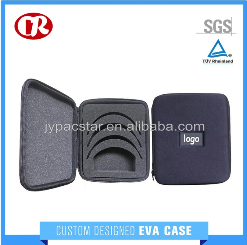 Hard shell durable quality eva glasses accessories case
