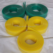 polyurethane squeegee on printing