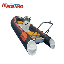 380cm Funny Large Rigid Hull Inflatable Fishing Boat