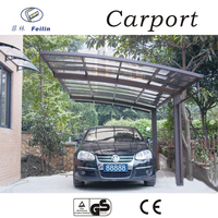 Strong and durable aluminum car parking shade inflatable carport garage