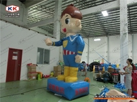 Custom Design 4M Advertising Inflatable Cartoon Boy