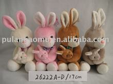 Easter Day Plush Rabbit Parent-Child