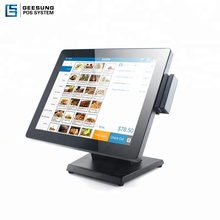 17 Inch Restaurant Pos All In One <strong>Point</strong> of Sale Terminals