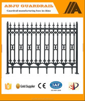 2015 new design of iron fence models for homes DK001
