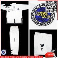 china High quality master taekwondo ITF uniform,taekwondo dobok, taekwondo ITF gi on sale for teacher