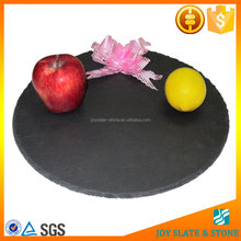 Natural black slate plate/cheese board/stone cheese platter