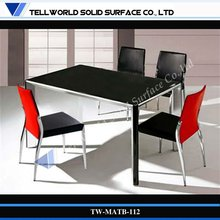 Household marble dining table Faux stone table top