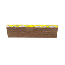 Pet scratch pack corrugated cardboard cat scratcher / cat scratching board enclosing catnip