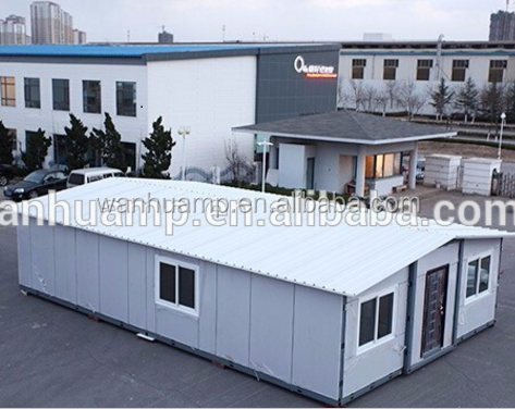 Foldable House 40' - less shipping cost with more living space