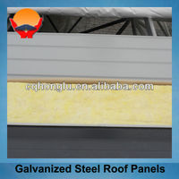 Structural Steel Galvanized Steel Roof Panel Roofing