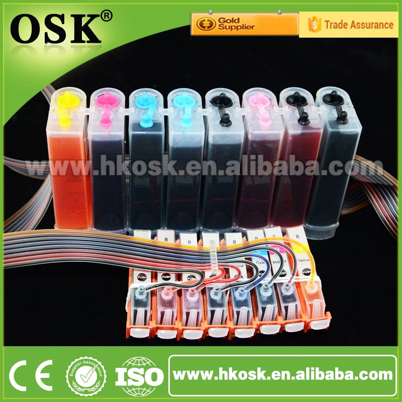 Bulk ciss system for Canon PIXMA IX4000 Printer ciss ink system with Auto Reset chip