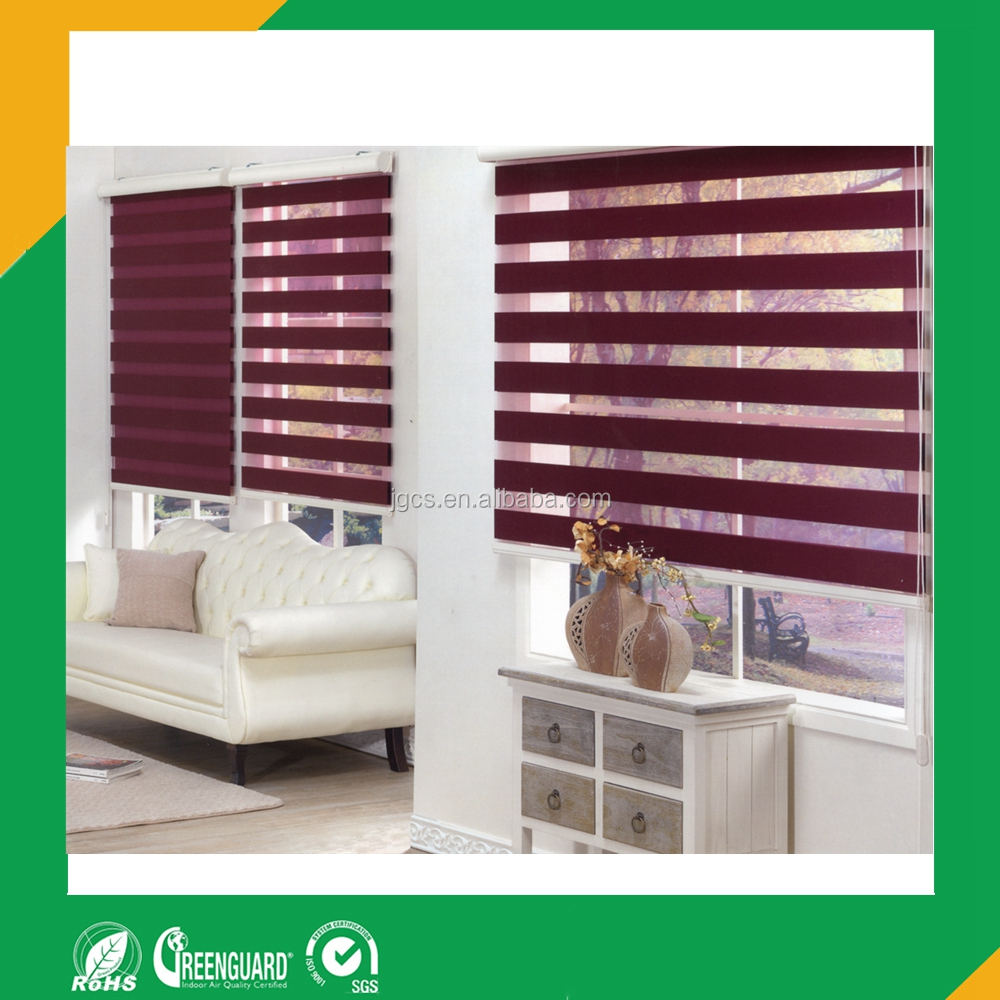 rainbow colored blinds used as office curtains and blinds and roller blinds parts