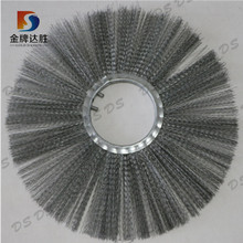 Steel Wire Ring Brush & Spacers For Road Sweeper