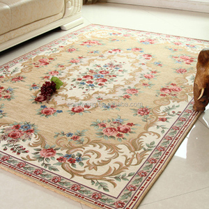 Anti slip Home Hotel Washable Jacquard rugs carpet for living room 40X60CM