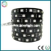 High lumen smd 5050 flexible waterproof ip65 dmx512 rgb led strip 24v