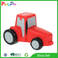Partypro Zhejiang Factory Newest Cheap Promotional PU Mini Bus Shape Stress Toy