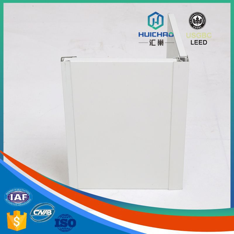 HC-Q Green good planeness affordable high value aluminum honeycomb polyurethane decorative wall panel