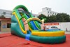 Amazing Channal game tree house inflatable kid water slide equipment