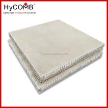 Fiberglass Aluminium Honeycomb Panel For stone composite ,Exterior Cladding