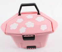 Supply fashion plastic cute mini trash can small order