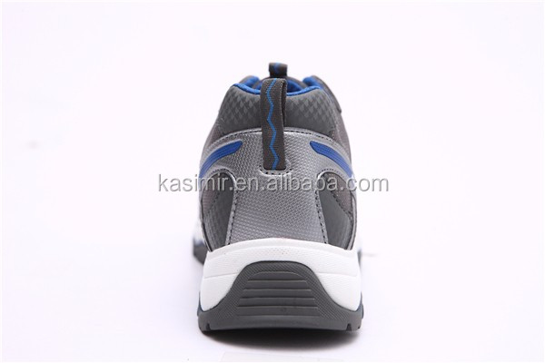 hot-selling Dark Grey trendy safety shoes for men