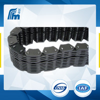 FVT315 double pitch roller chain,plastic chain conveyor belt