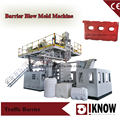 Plastic road block blow moulding machine