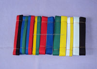 Fashion Jiu Jitsu Gi/Judo belt with ten colors