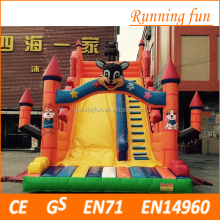 Jungle Themed wholesale inflatable slide, cheap inflatable water slides for sale