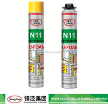 Double adhesive 900g light yellow windshield polyurethane adhesive sealant for sale