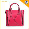 Hot Selling Famous OEM Ladies High End Tote Handbag/Elegent PU Leather Bags