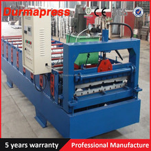 automatic tile press for steel Steel Profile Trapezoidal Roof Plate Metal Cold Roll Forming Machine Roll Former