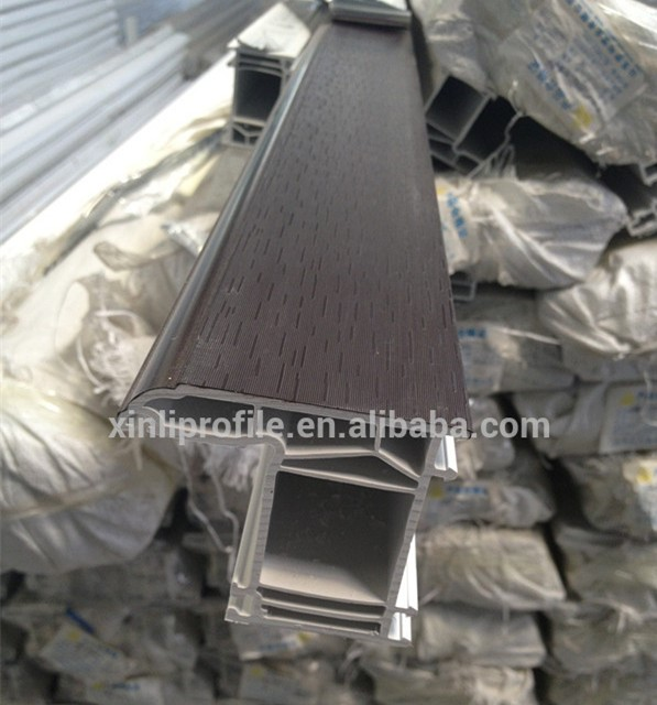 Plastic extrusion profile from chinese upvc profile for Pvc double glazing
