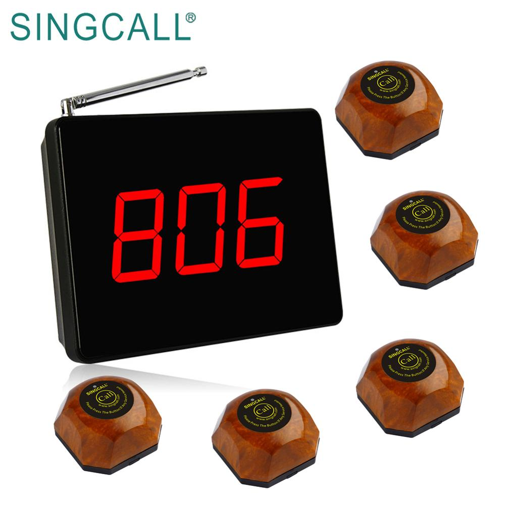 SINGCALL wireless pager server paging system with long range