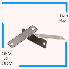 manufacturer available blank brassing label 2 hole engarved metal tags