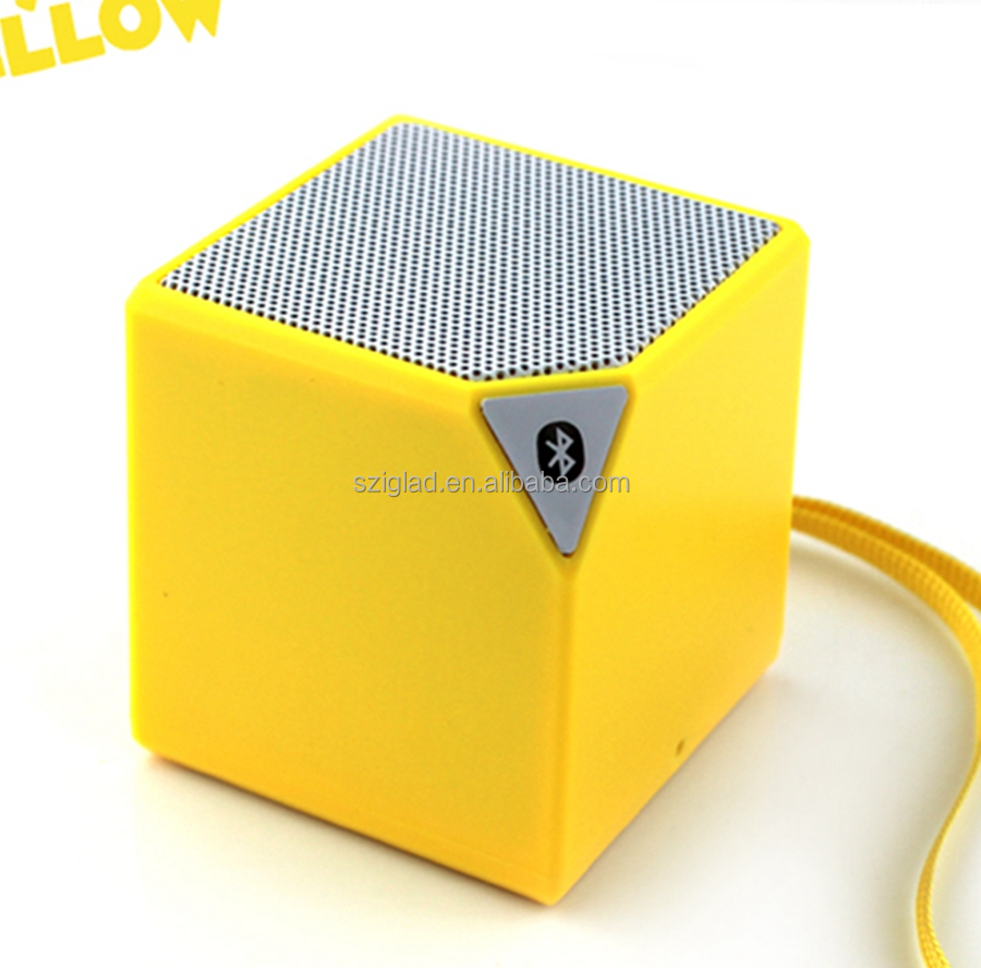 New design HiFi stereo portable Cube Wireless Enjoy Music Mini Bluetooth Speaker